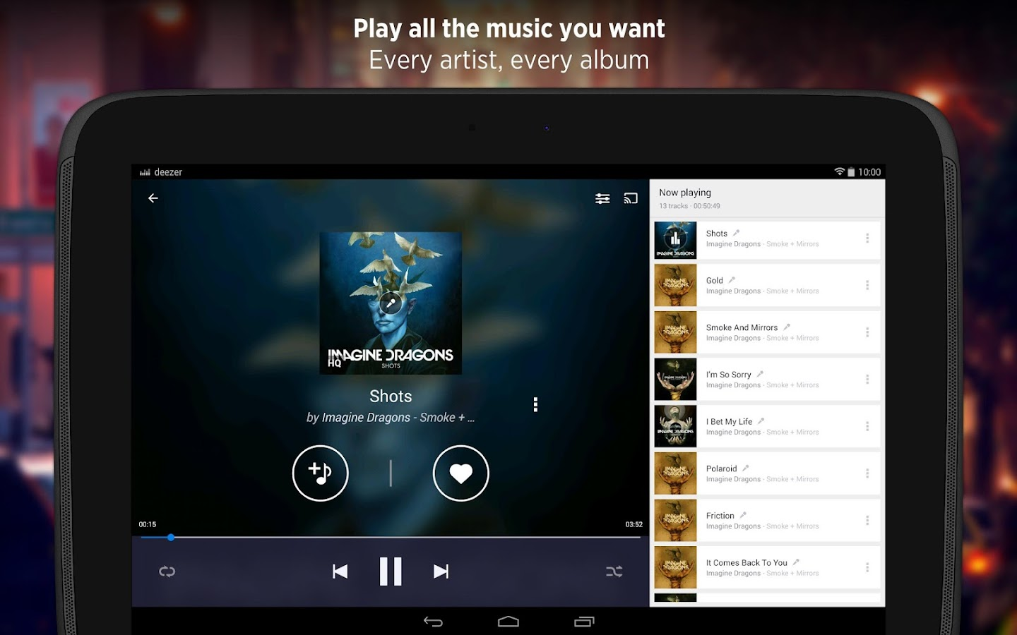 music player application for android