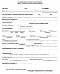 new taxi licence application form