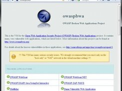 owasp broken web applications project