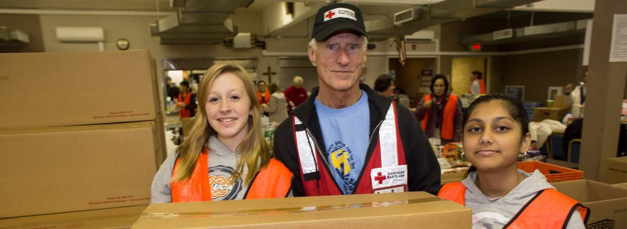 red cross volunteer application 2018