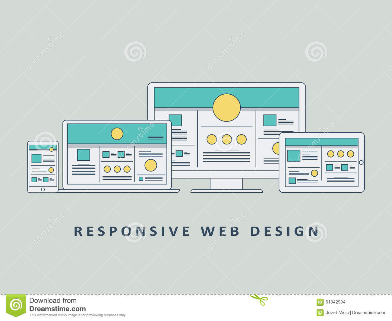 responsive web application templates free download