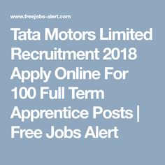 tata motors job application form