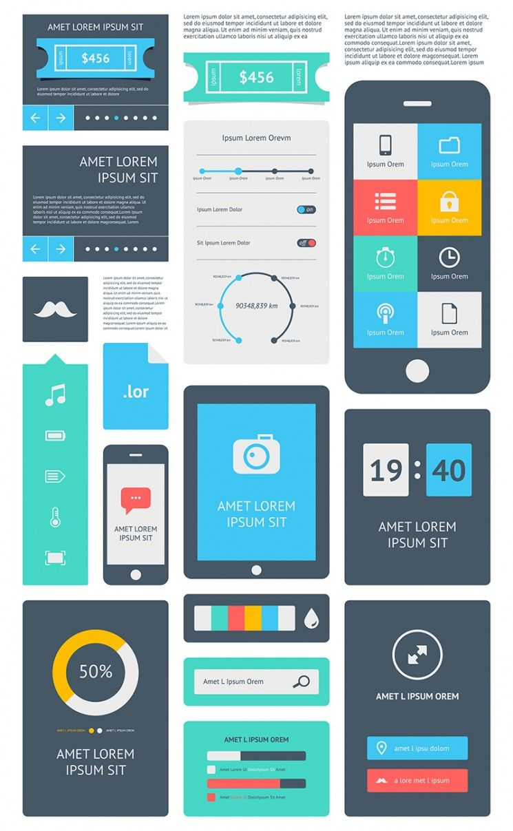 web application user interface design