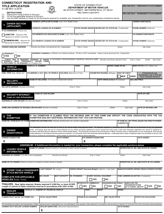 what is title in application form