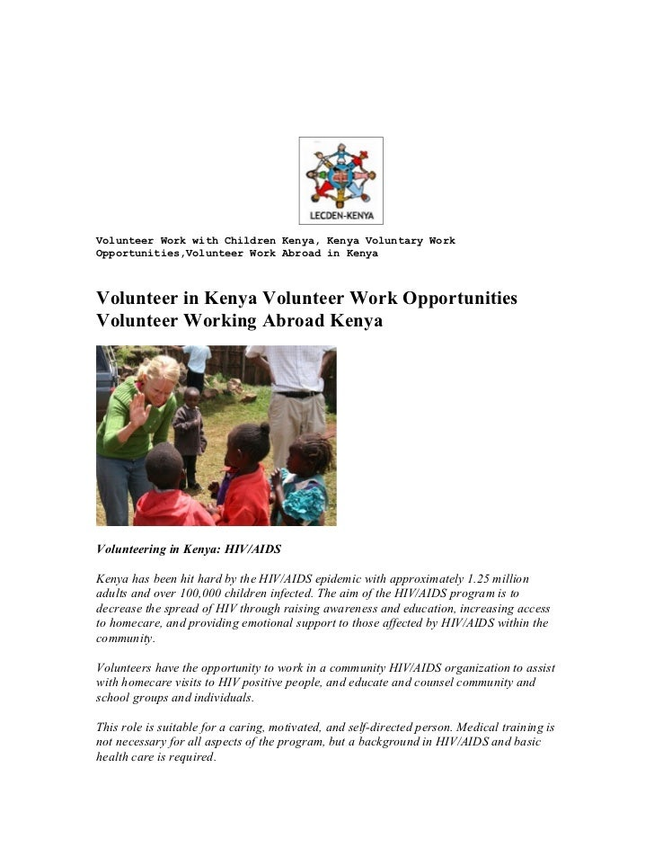 working with children check volunteer application